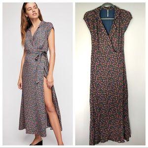 FP So Fetch Midi Dress Wrap Floral Cottage Farm 0